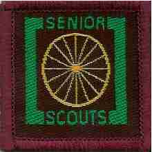 The Senior Scout Despatch Rider Badge